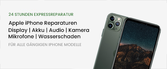 iPhone Reparatur Banner